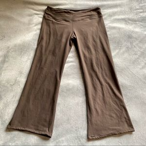 Lululemon brown reversible groove pant